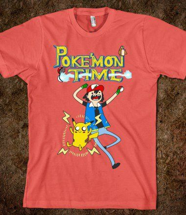 It's Poke'mon Time! - Fandom and Games - Skreened T-shirts, Organic Shirts, Hoodies, Kids Tees, Baby One-Pieces and Tote Bags on Wanelo