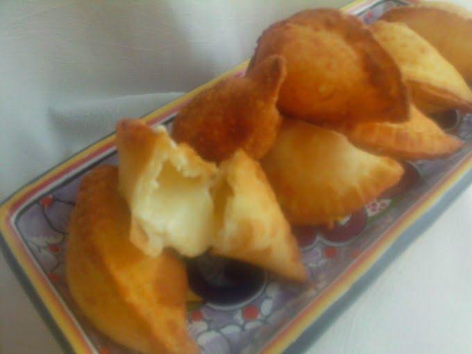 Me gusta probar diferentes recetas Esta e la empanadas fritas quedaron muy buenas