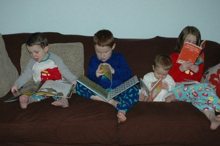 Christmas Eve Book - Every year our kids get to open a present of pjs and a new book on Christmas Eve morning. The day is officially dubbed pajama day and the books keep them occupied (and reading!) as they wait for the much anticipated tomorrow.