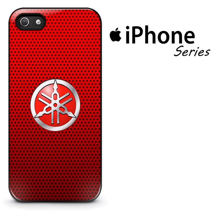 Yamaha Red Carbon Phone Case | Apple iPhone 4/4s 5/5s 5c 6 6 Plus Samsung Galaxy S3 S4 S5 S6 S6 Edge Samsung Galaxy Note 3 4 5 Hard Case