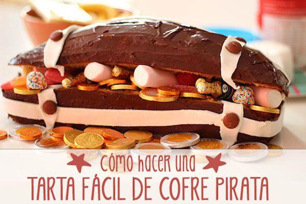Tarta de cumpleaños: cómo hacer una tarta de cofre pirata