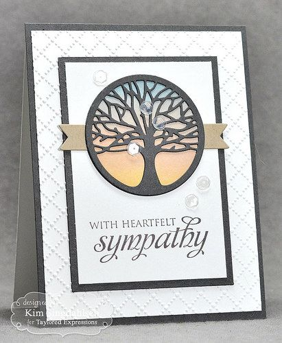 Heartfelt Tree from Joyful Creations with Kim using products from Taylored Expressions. #tayloredexpressions
