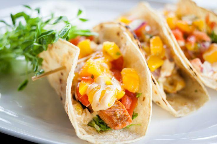 Our fabulous fish tacos! A favorite amongst our patrons.
