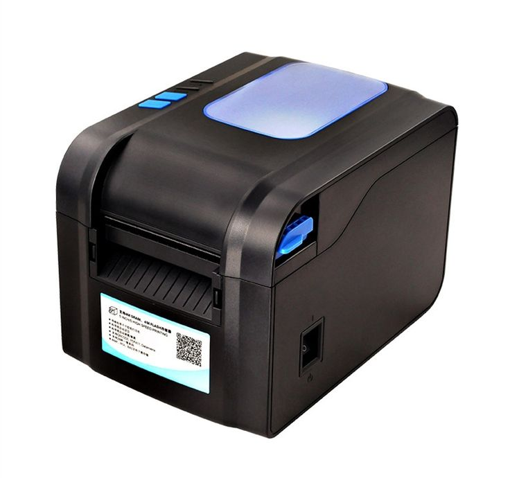 (48.22$)  Buy here - http://aiz78.worlditems.win/all/product.php?id=32601339213 - 370B thermal bar code non-drying label printer clothing tags supermarket price sticker printer Support for printing 22-80 mm wid
