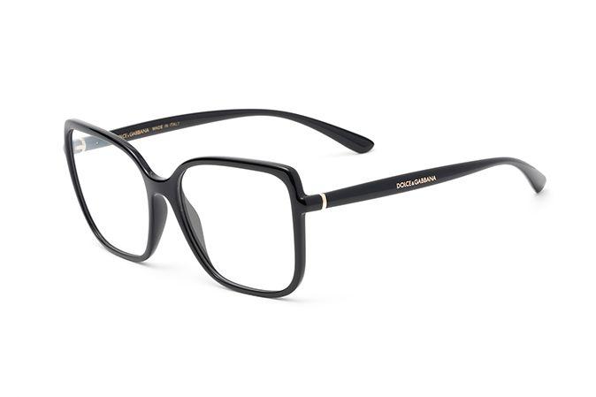 2166cbdc31b Eyeglasses for women DG5028 with square frame in black