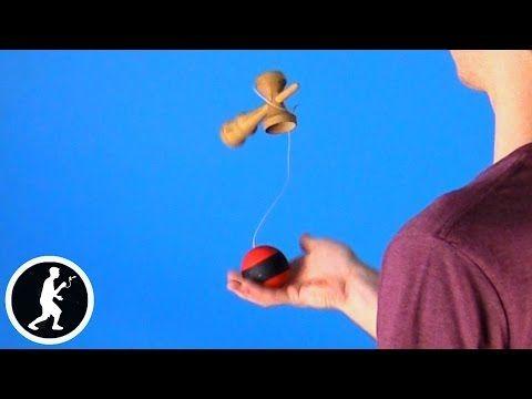 How to do Juggle Kendama Trick