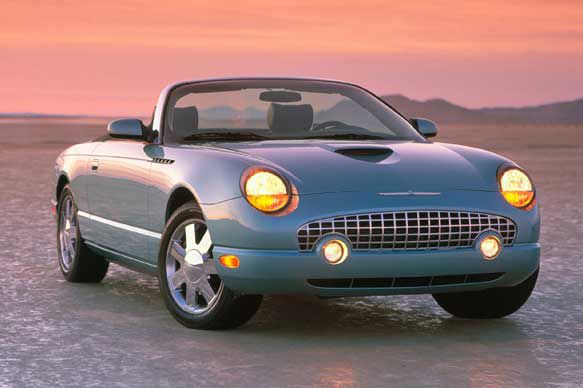 Ford Thunderbird In 2002, Ford launched the eleventh generation