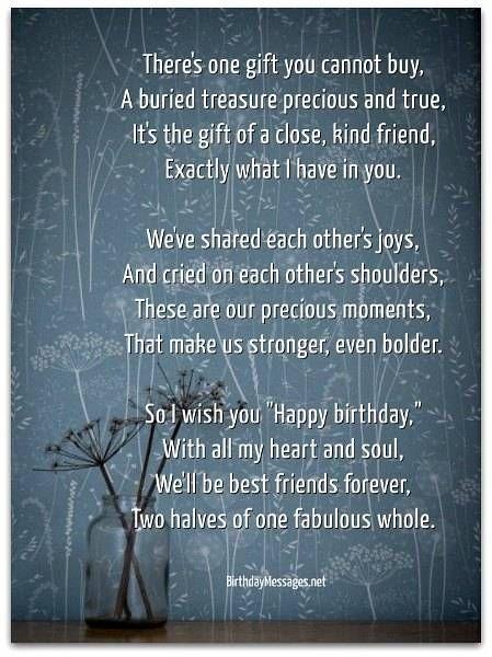 Sentimental Birthday Poems - Page 2