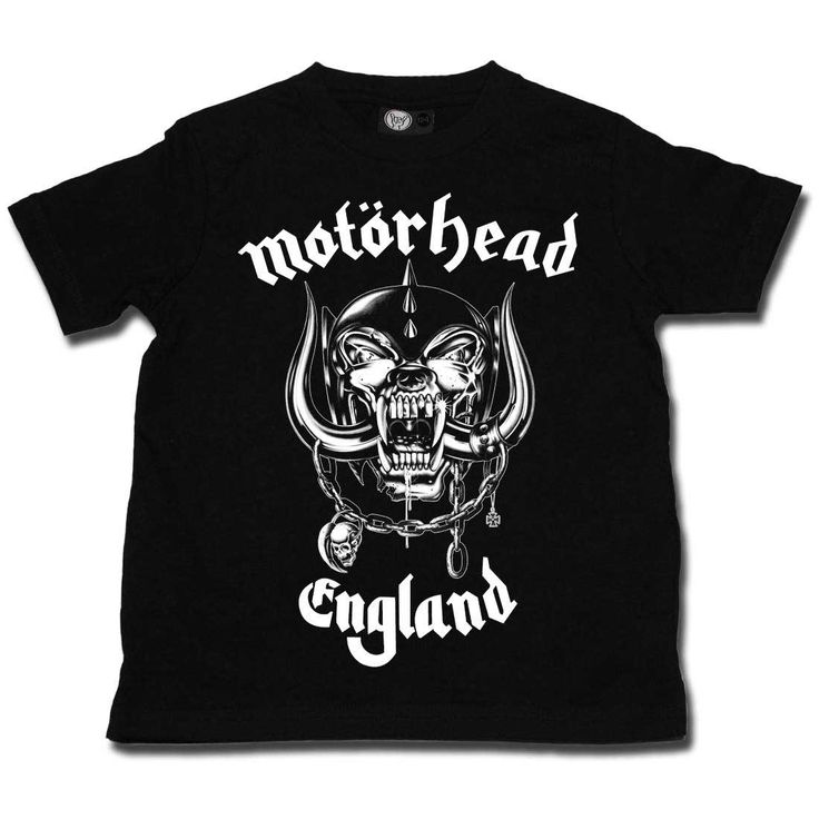 Motorhead England Kids T-shirt 2-13 Years