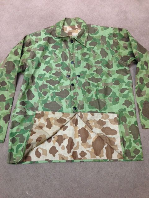 The Value of Vintage Frogskin Camouflage