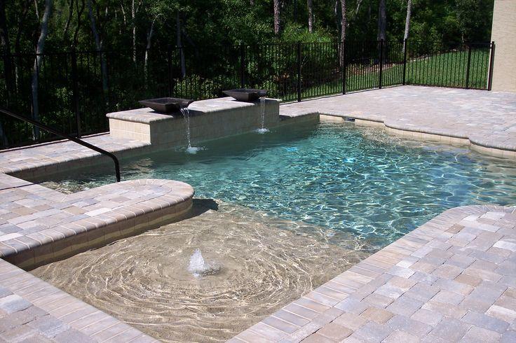 Backyard Backyards Pool Pools. I like the small