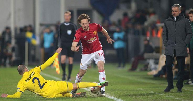 Man Utd travel to Stamford Bridge on Monday following their return Rostov where they drew 1-1 in the Europa League last 16.