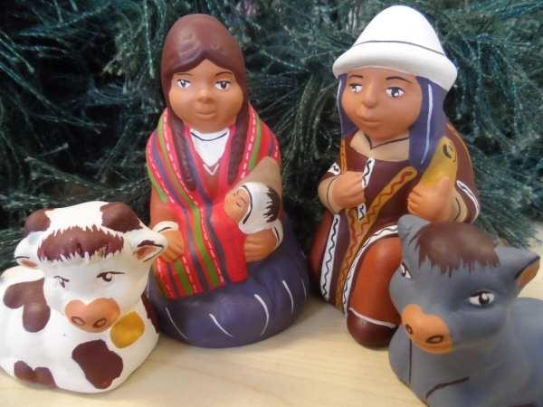#Christmas #Fairtrade #Nativity from Minka #Peru