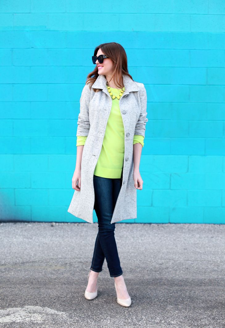Neon Yellow, Spring, What I Wore | Hello, Spring!, @Jessica Quirk | What I Wore