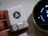 The Automatic smart driving monitor is teaming up with the Nest smart thermostat so your home is just the right temperature when you pull into your driveway.