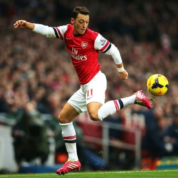 Mesut Özil is a German footballer who plays for Premier League club Arsenal and the German national team. Özil has been a youth national team member since 2006, and a member of the German national team since 2009. Wikipedia