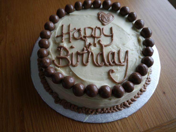 Maltesers malted chocolate fudge cake