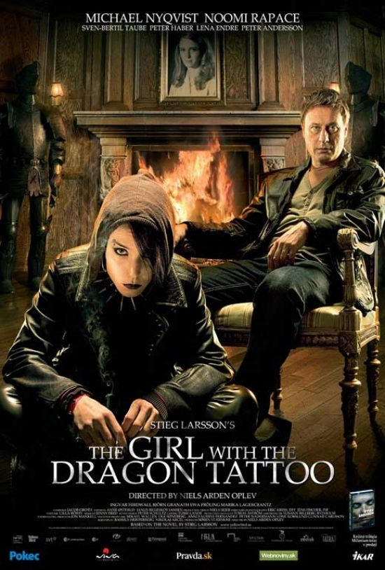 The Girl with the Dragon Tattoo Movie Poster Print (27 x 40) - Item # MOVCB94211 - Posterazzi