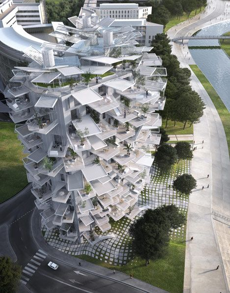Sou Fujimoto Architects Team designed by Sou Fujimoto inspired in trees for Montpellier. | Find more in http://www.bocadolobo.com/en/inspiration-and-ideas/
