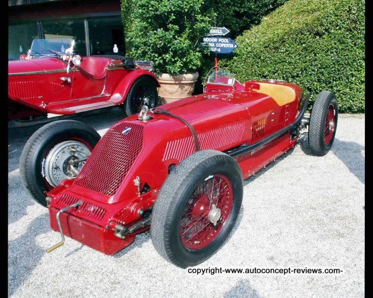 A nicely restored Talbot Darracq Grand Prix car