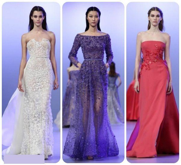 Elie Saab: noua colecție de rochii primăvară 2014