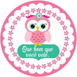 KIT FESTA PRONTA CORUJINHA GRÁTIS PARA BAIXAR - Cantinho do blog Layouts e Templates para Blogger