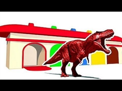Learn Colors With Dinosaurs for Children | Nursery Rhymes Songs | Learning Video - Vidinterest