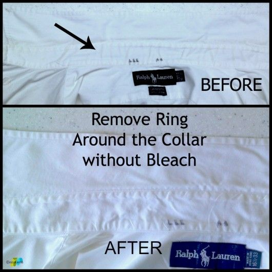 Bleach To Remove Ring Around The Collar