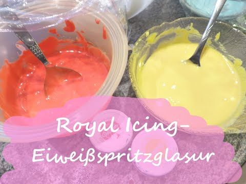 Bester Zuckerguss für Kekse l Royal Icing - YouTube