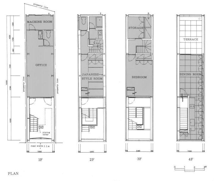 House in nipponbashi waro kishi k associates for Suburban house floor plan