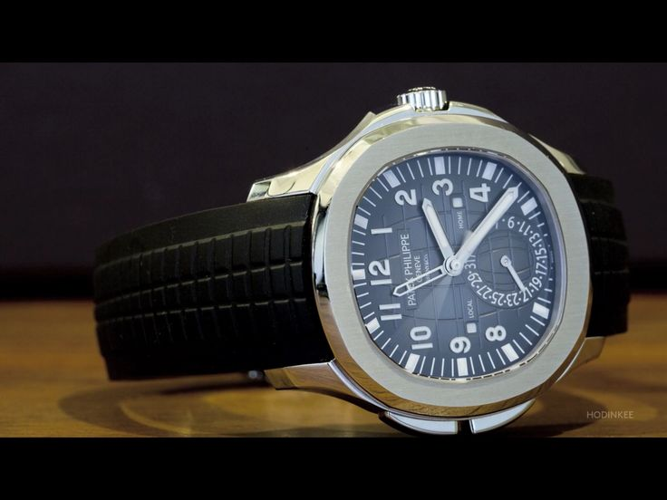 The Patek Philippe Aquanaut Travel Time Reference 5164A ...
