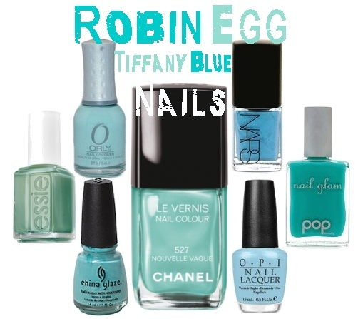 All The Tiffany Blue Nail Polishes China Glaze For Audrey Essie Turquoise Orly Gumdrop Chanel Nouvelle Vague Nars Lagoon Pop Turq