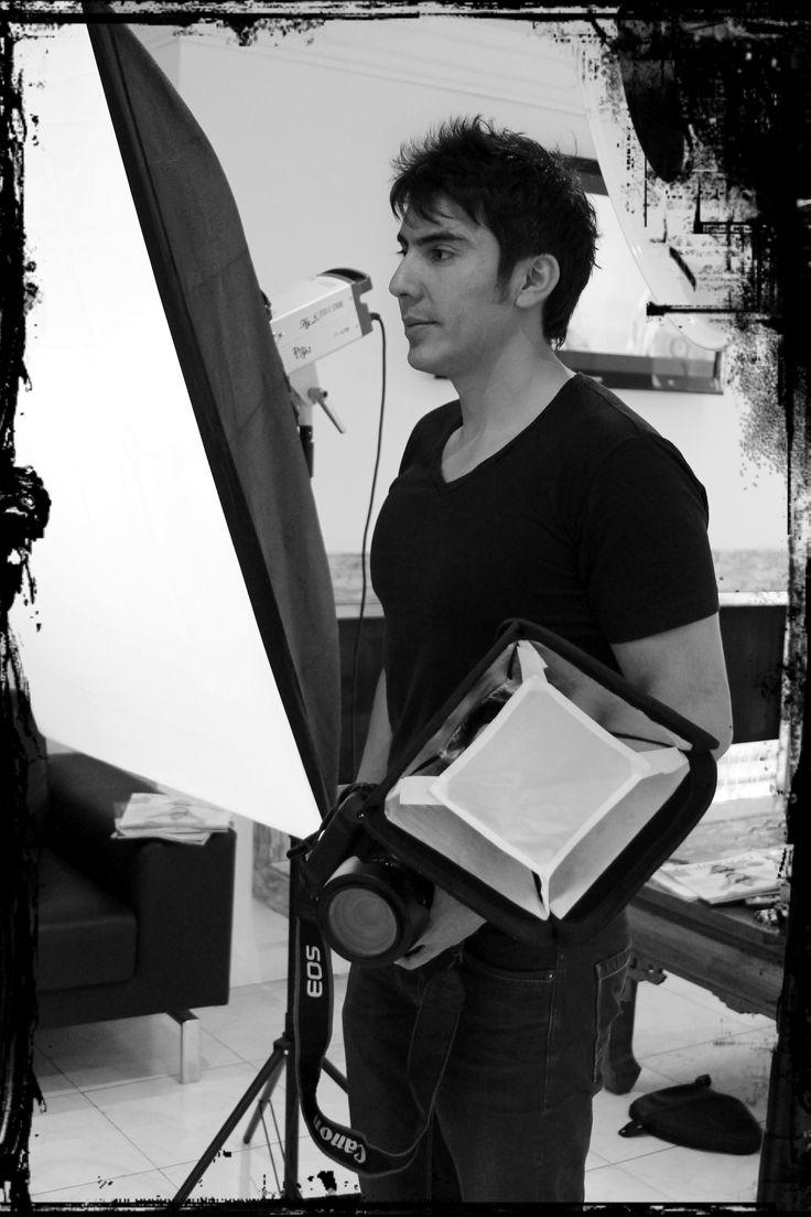 Fotógrafo oficial Michel Kantor Shooting MERCURY Estudio Portada Revista Agmeth Escaf Copyright 2013