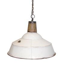 Lampa, antik vit  1350kr