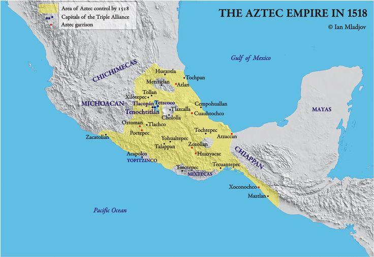 Aztec empire 1518