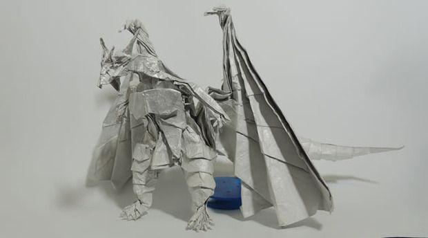 Divine Dragon 2 1 Bahamut Origami