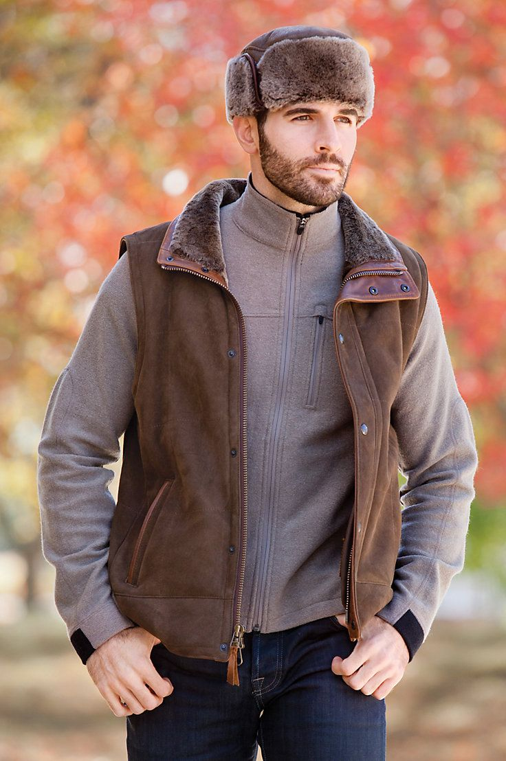 About men s shearling coats on pinterest sheepskin jacket sheepskin