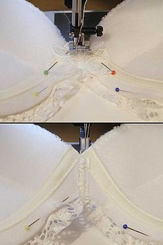 Detailed #tutorial with great pictures to make your own bra. I've been everywhere - this is in the top 3 for bra making.