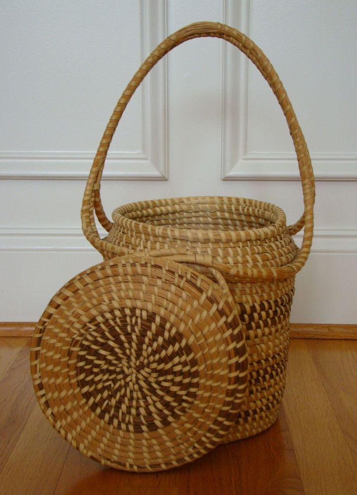 Handmade Baskets In Charleston : Images about lowlands sweet grass baskets on