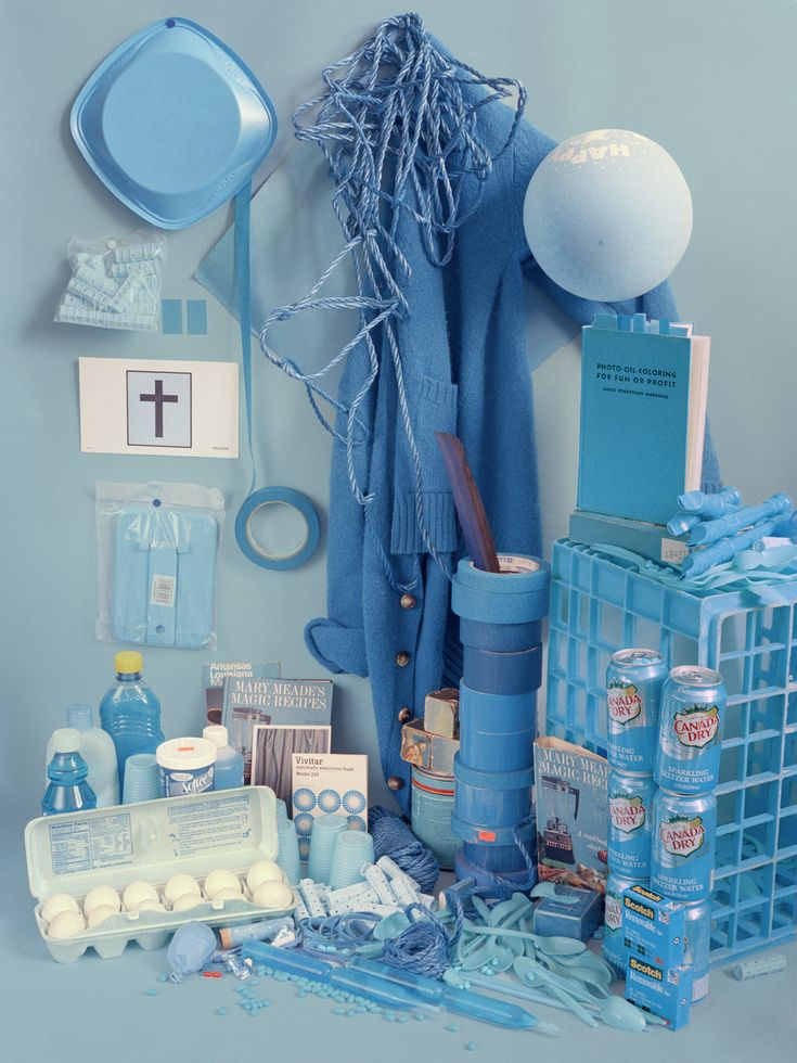 Color Studies: Blue (Sara Cwynar)