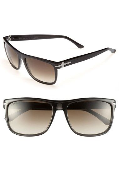 Gucci '1027' 57mm Sunglasses | Nordstrom