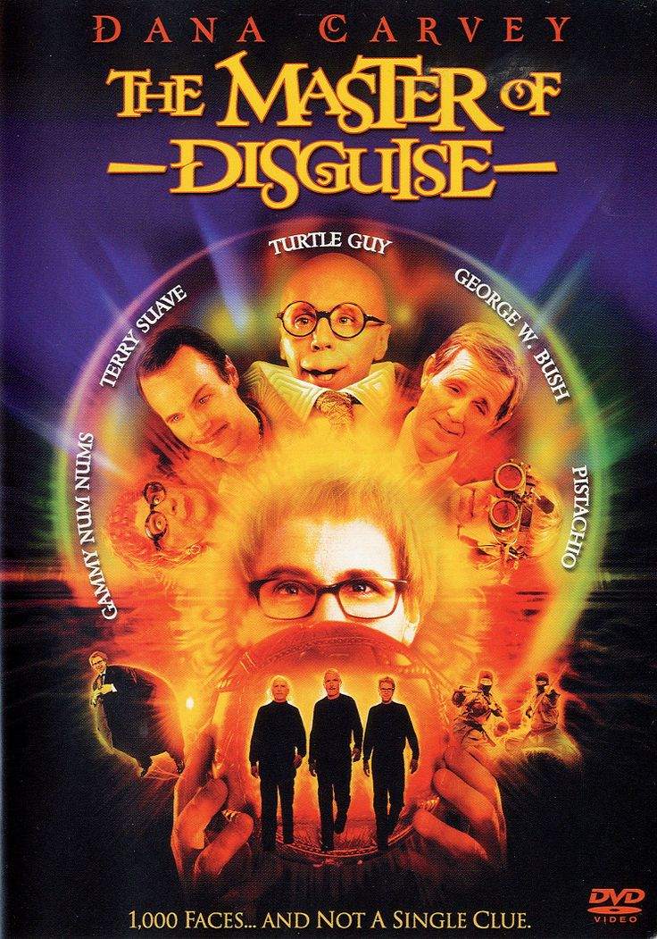 The hilarious Dana Carvey showcases his dazzling impersonation skills in MASTER OF DISGUISE, a comedy about an innocent man who discovers that he has a rare, though mildly annoying, gift. Carvey is Pi