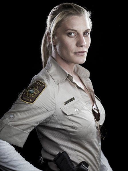 24 Best Images About Metallic Epoxy Floors On Pinterest: Katee As Deputy Vic Morretti In Longmire