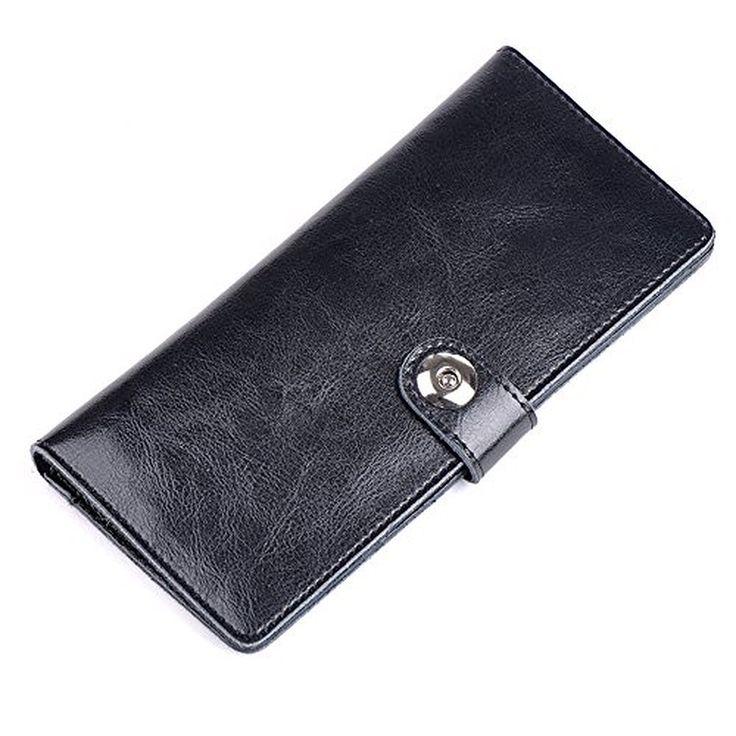 BEMAGSA Women's Leather Wristlet Wallet(PL-8169)