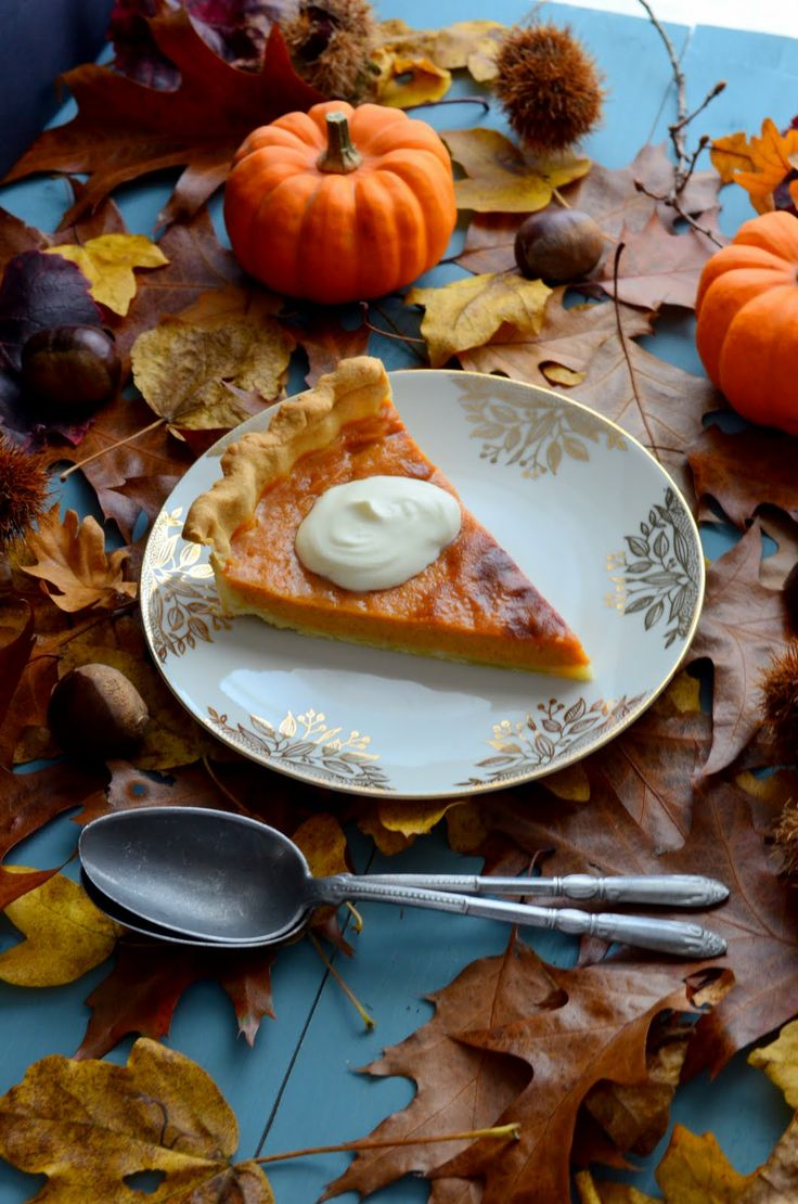 Pumpkin Pie http://voyagegourmand.fr/saisons/automne/perfect-pumpkin-pie/