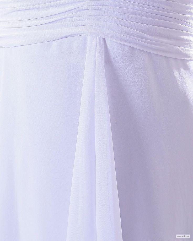 outdoor bridesmaid dresses Sweetheart knee length Chiffon Bridesmaid Dress $102.98