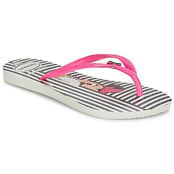 Tongs+Havaianas+SLIM+DISNEY+MINI+Rose+/+Noir+19.99+€