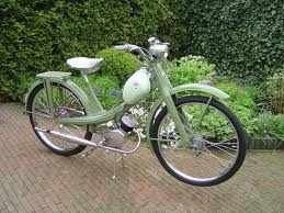 NSU Quickly Kawa Green  from the Fifties