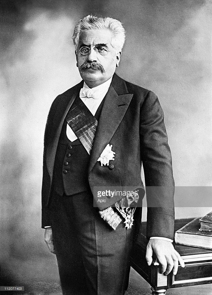 Alexandre Millerand (1859-1943) french president in 1920-1924 c. 1920.