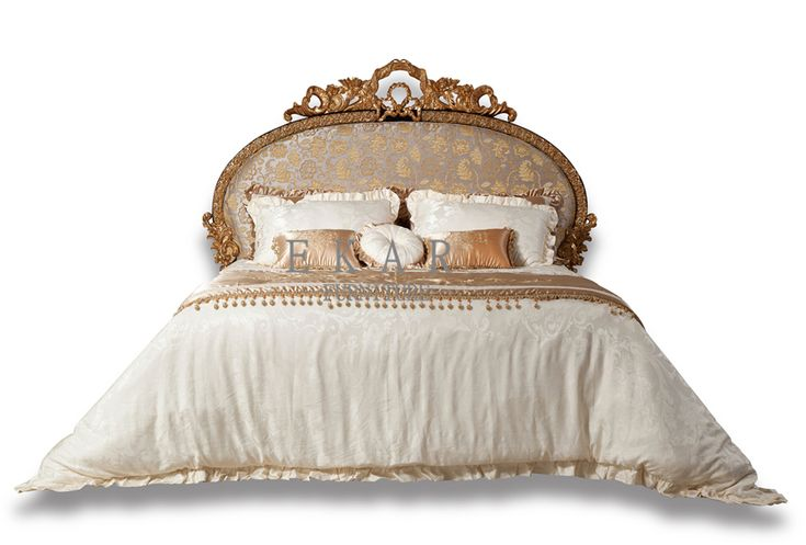 An affordable royal bed